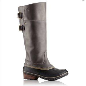 Sorel Slimpack Riding Tall II Snow Boots Size 6.5